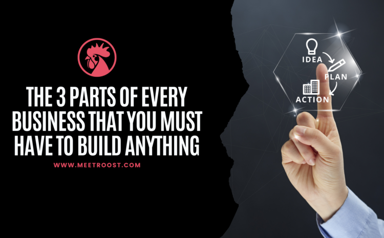 Meet Roost – The 3 Parts Of Every Business You Must Have To Build Anything